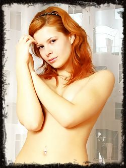 Red haired girls are way too much fun, with a hot bottom and sizzling lips.