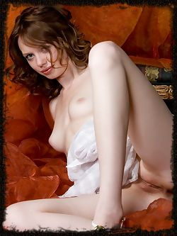 Darling Kylie has dirty brown , slightly curly hair and small breasts with long legs and a scrumptious pussy.